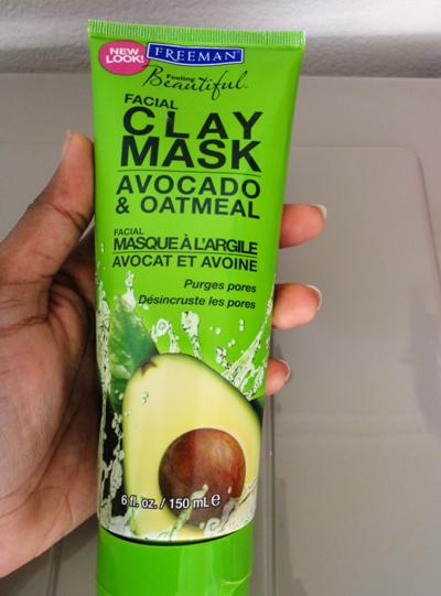 Freeman+Clay+Mask+with+Avocado+and+Oatmeal+Review